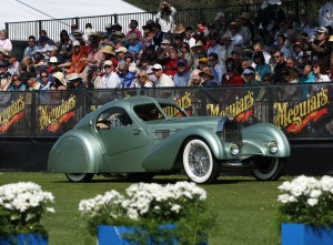 Прототип Bugatti Type 57 С Aerolithe 1935 года