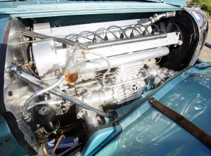 Двигатель Bugatti Type 57