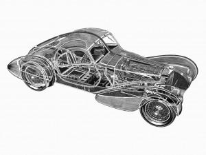 Шасси для Туре 57 позаимствовали у Bugatti Type 49