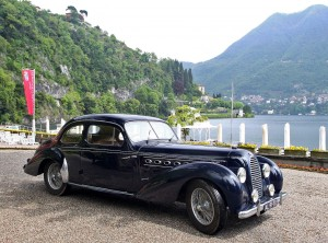 Bugatti Туре 101 1951 года построен на платформе Туре 57
