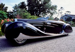 Bugatti Type 57 С Cabriolet с кузовом Vanvooren, 1939 год