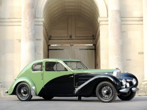 Bugatti Type 57 C Coupe Aerodynamique 1936 года принадлежал самому Этторе Бугатти