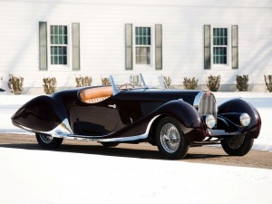 Bugatti Type 57 C Roadster с кузовом от Figoni & Falaschi, 1937 год