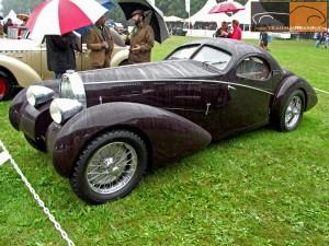 Bugatti Type 57 Gangloff Coupe 1935 года