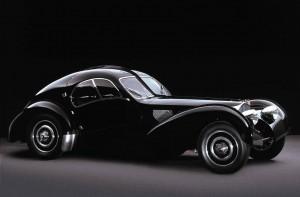 Bugatti Type 57 SC Atlantic 1936 года – шедевр автомобильного дизайна