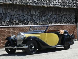 Кабриолет Bugatti Type 57 Stelvio 1934 года