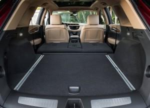 Cadillac XT5 2016, багажник