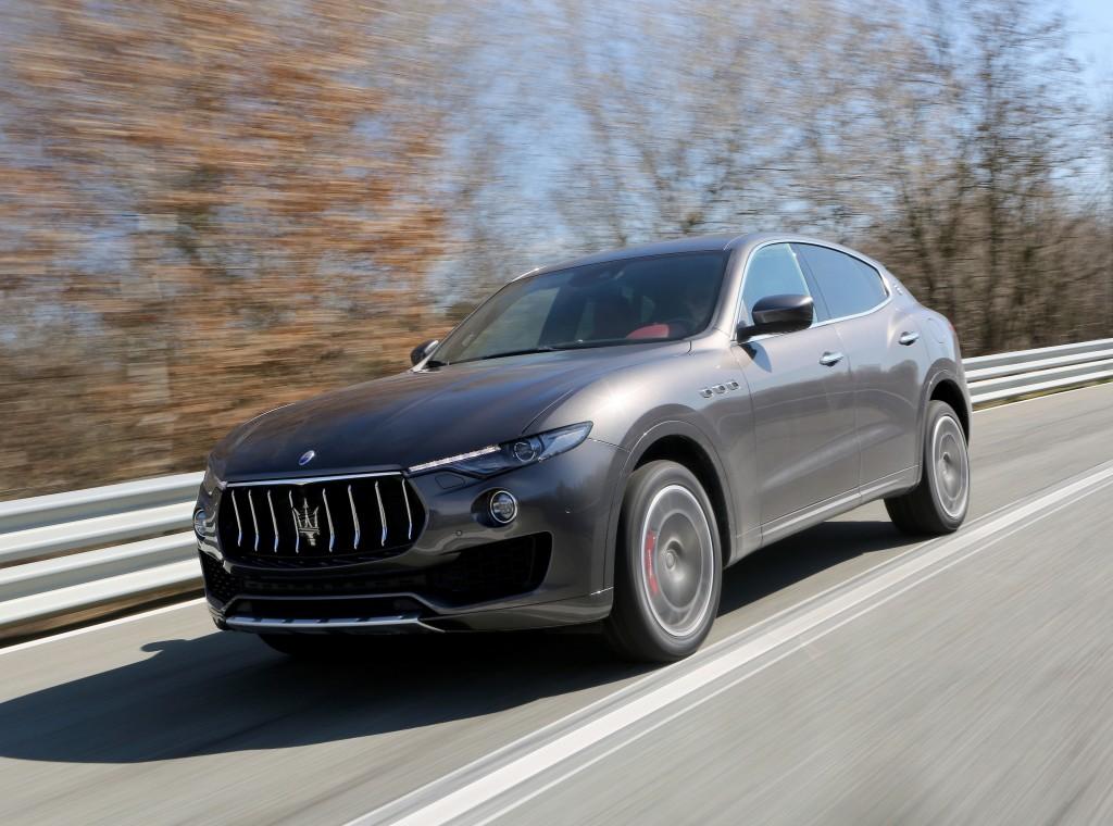 Maserati Levante, вид спереди