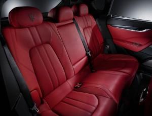 Maserati Levante, задние сиденья