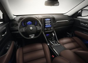 Новый Renault Koleos, передняя панель