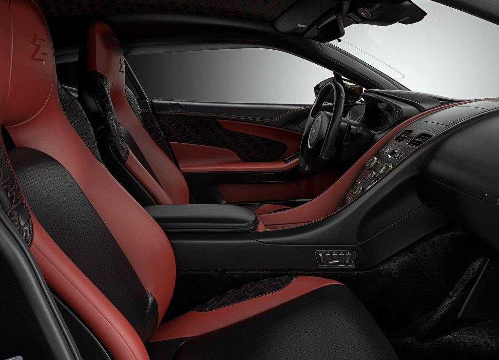 Aston Martin Vanquish Zagato, салон