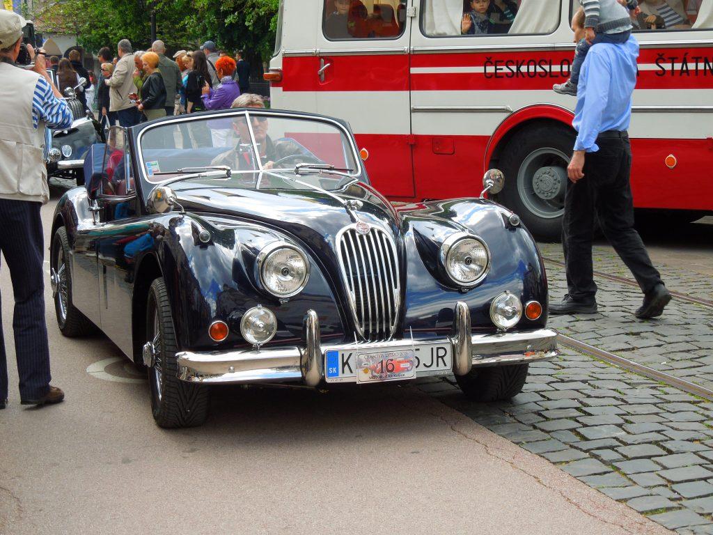 Jaguar XK140 1956 года