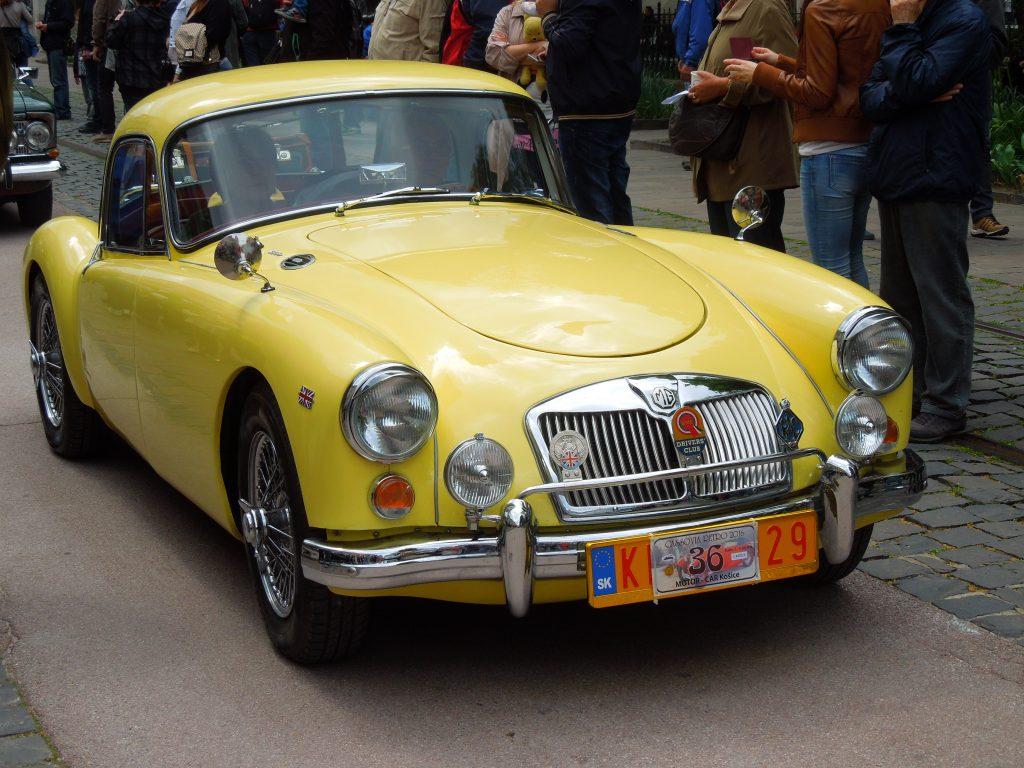 MG A 1958 года