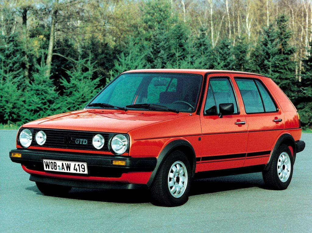 Volkswagen Golf GTD 1985 года