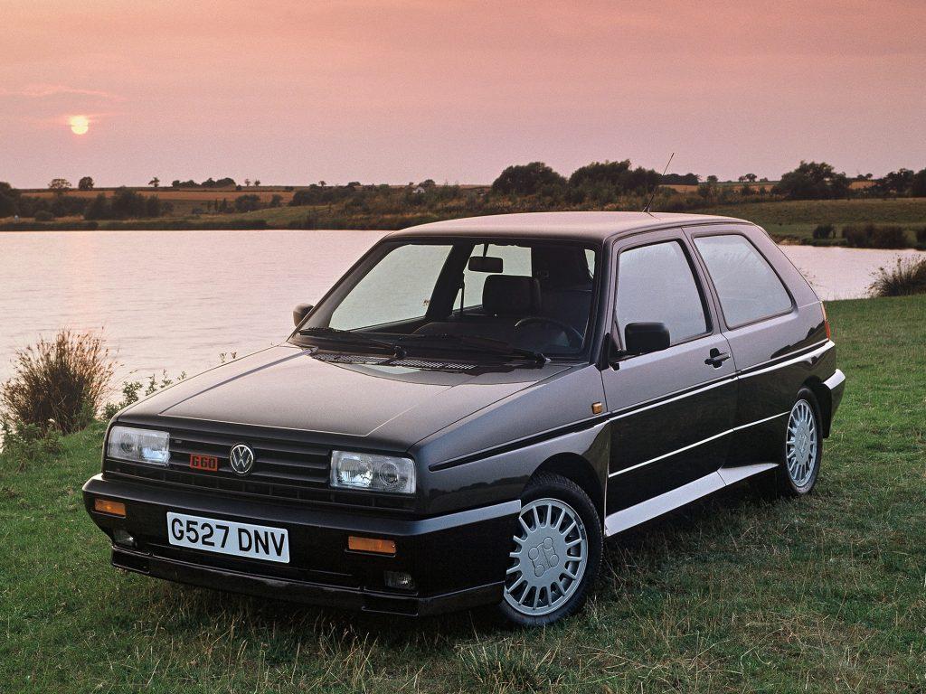 Volkswagen Golf Rallye 1989 года
