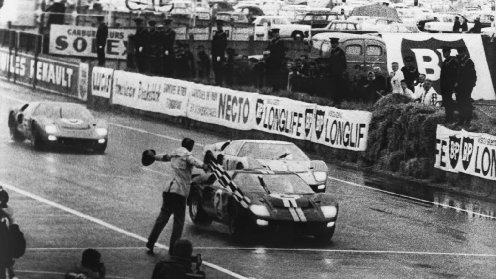 Победный финиш Ford GT40 в Ле-Мане, 1966 год