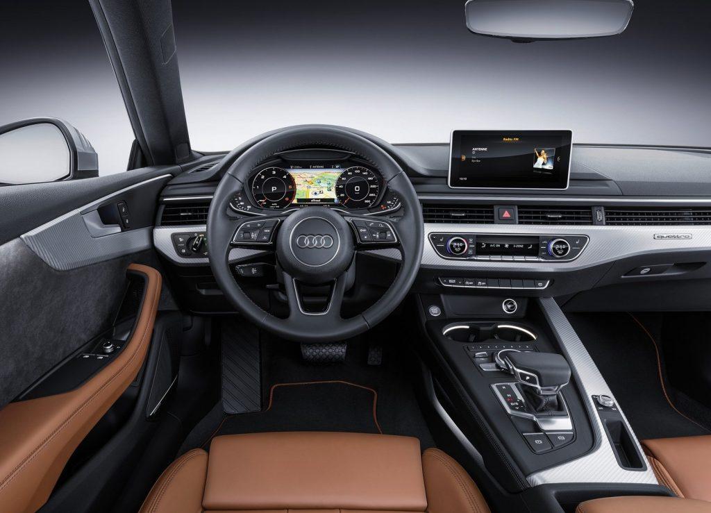 Новый Audi A5, передняя панель
