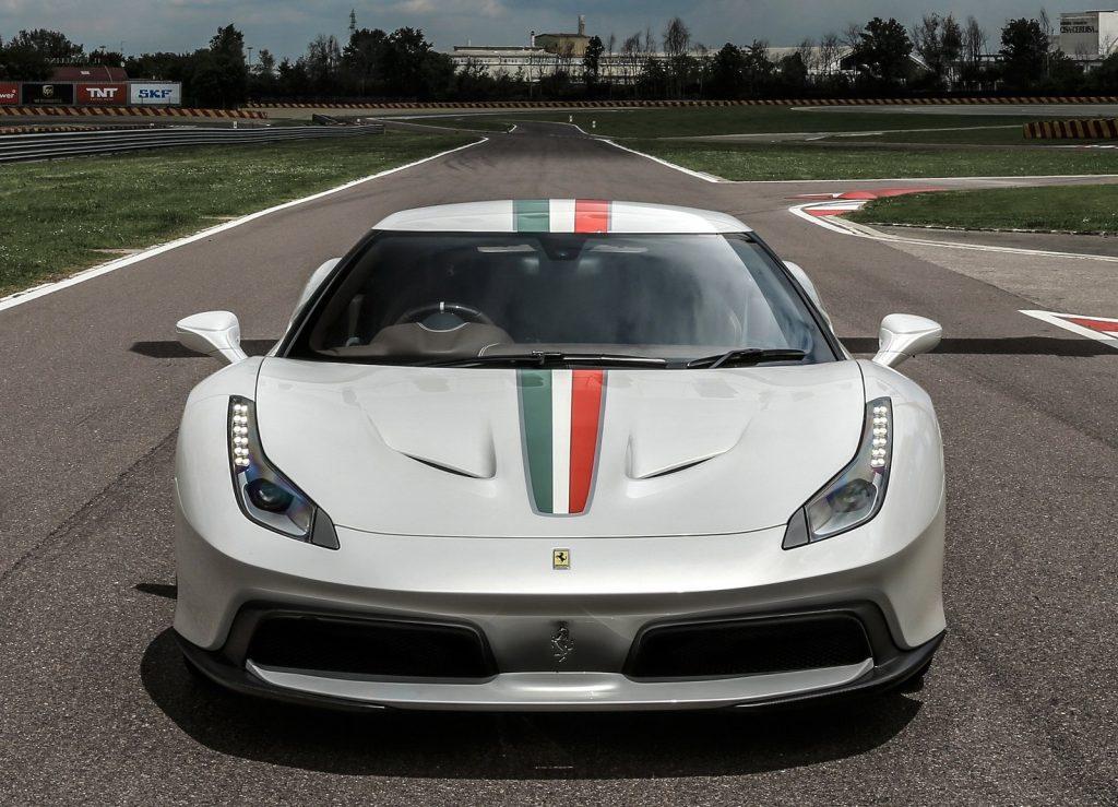 Ferrari 458 MM Speciale, вид спереди