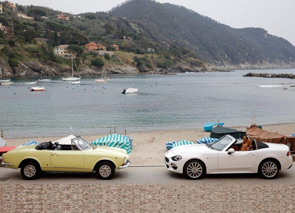 Fiat 124 2016 и 1966 г.