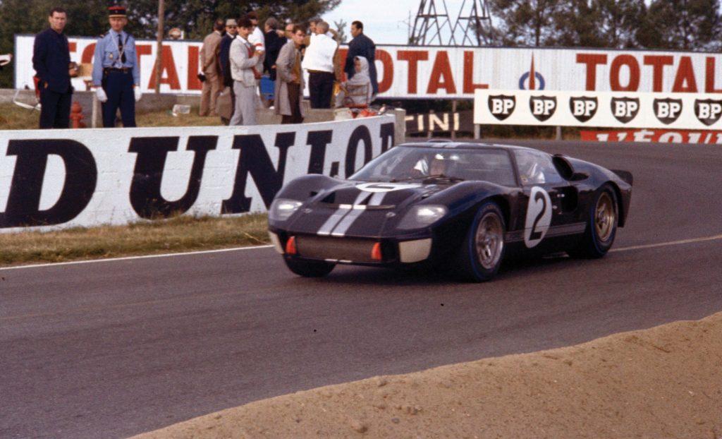 Победоносный Ford GT40 MkII в Ле-Мане, 1966 год