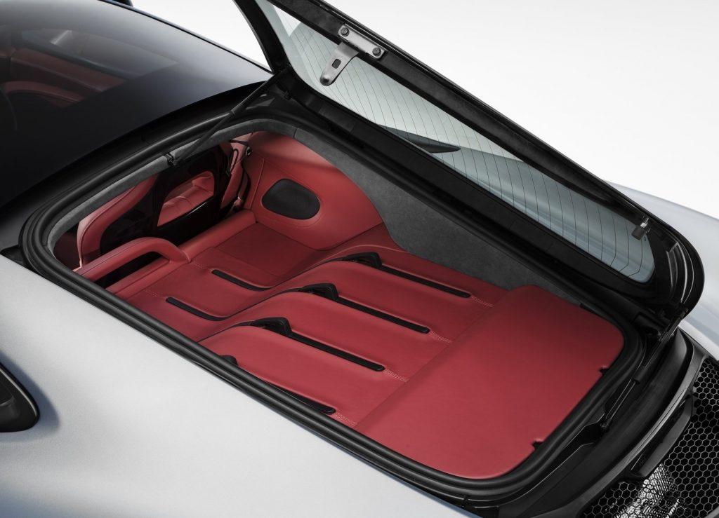 McLaren 570 GT 2016, багажник