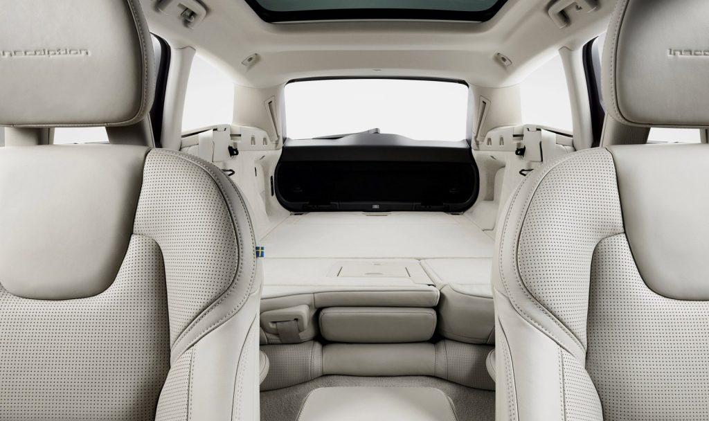 Volvo V90, багажник