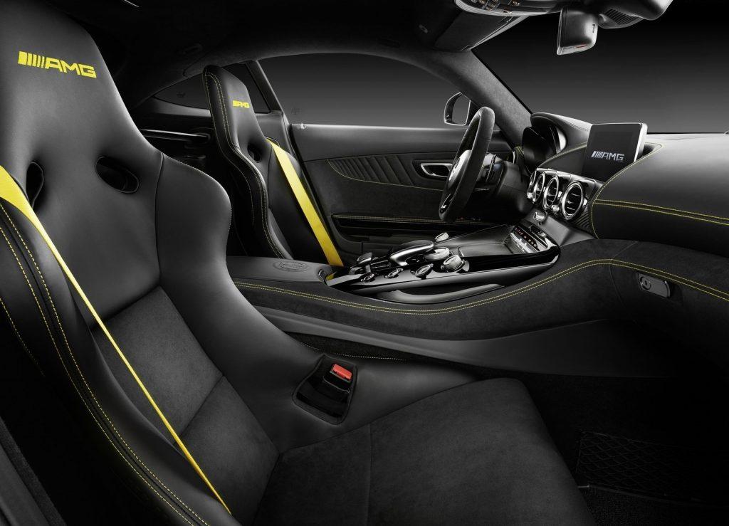 Mercedes-AMG GT R 2016, салон