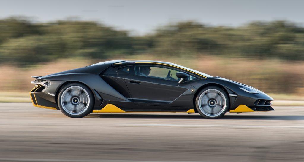 Lamborghini Centenario LP770-4 2016, вид сбоку