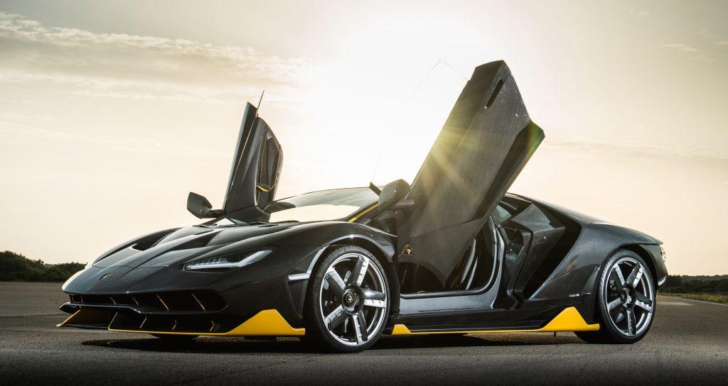 Lamborghini Centenario 2016, двери
