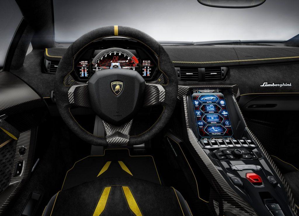 Lamborghini Centenario LP770-4, салон
