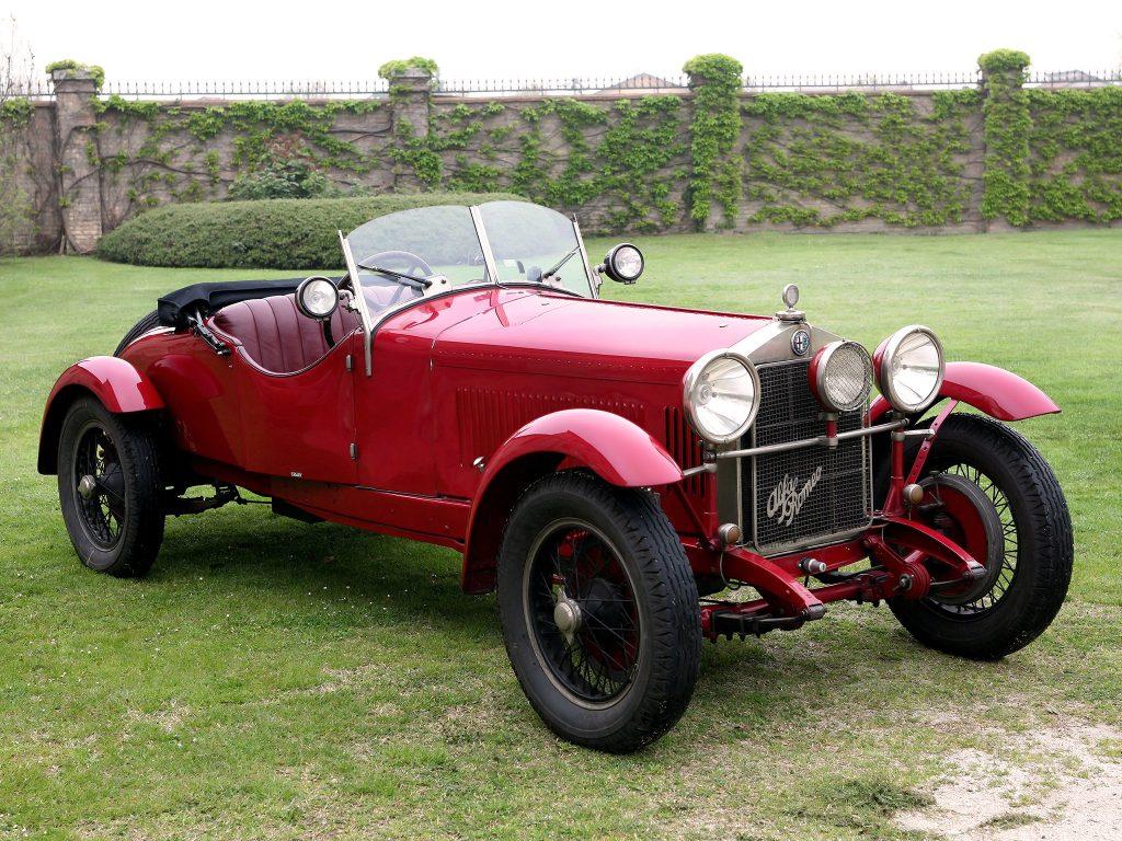 Alfa Romeo 6C 1500 Mille Miglia Spider Speciale 1927 года