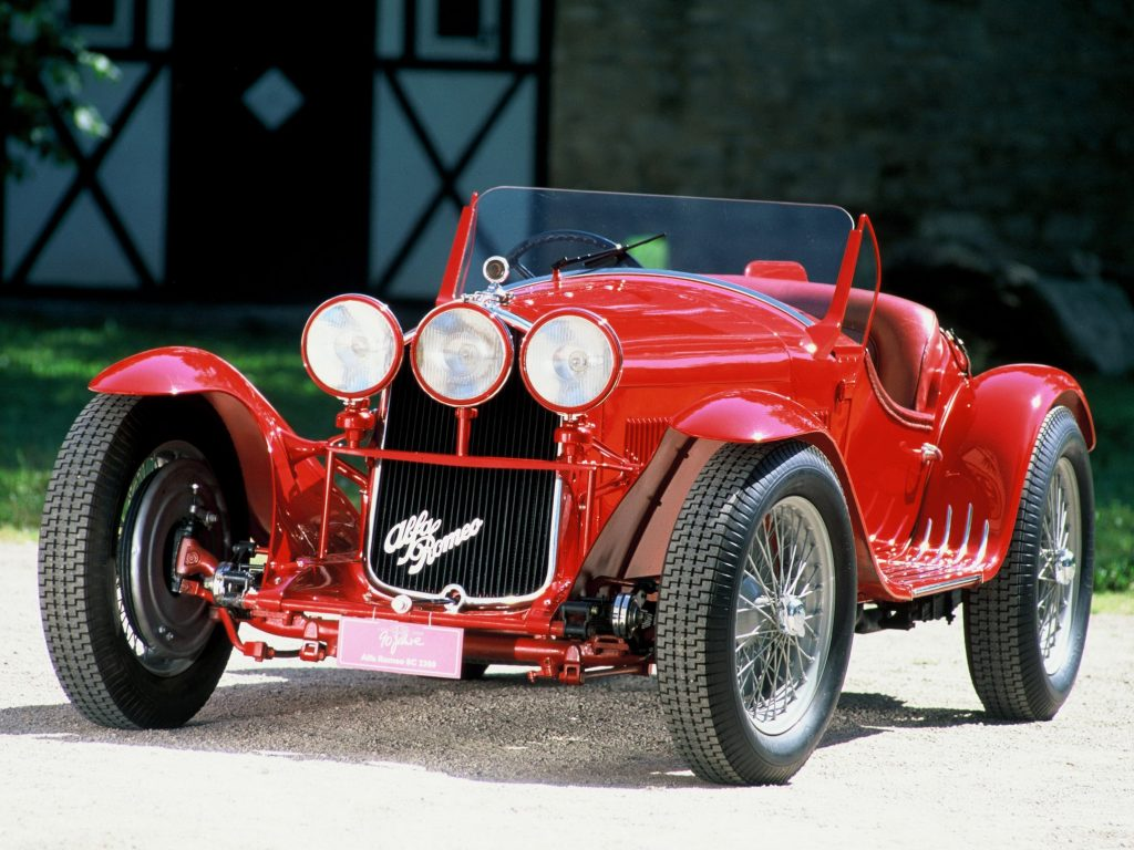 Alfa Romeo 8C 2300 Spider Corsa 1933 года