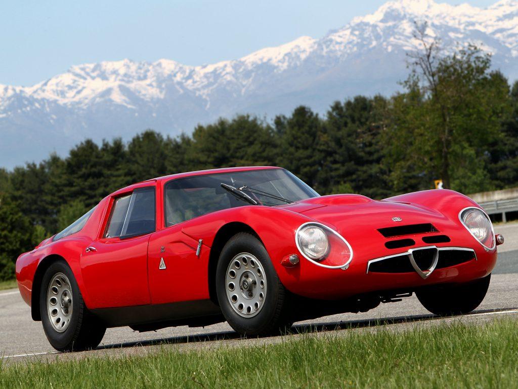 Alfa Romeo Giulia TZ2 1965 года