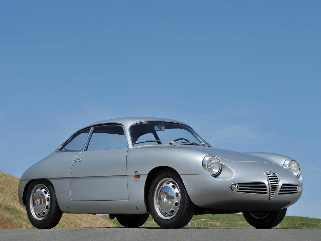 Alfa Romeo Giulietta SZ 1960 года