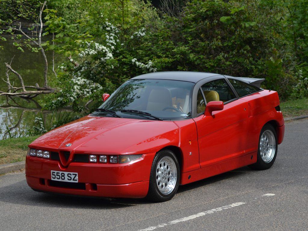 Alfa Romeo SZ, 1989 год