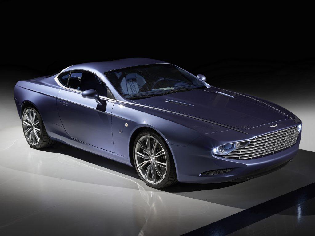 Aston Martin DBS Coupe Centennial 2013 года