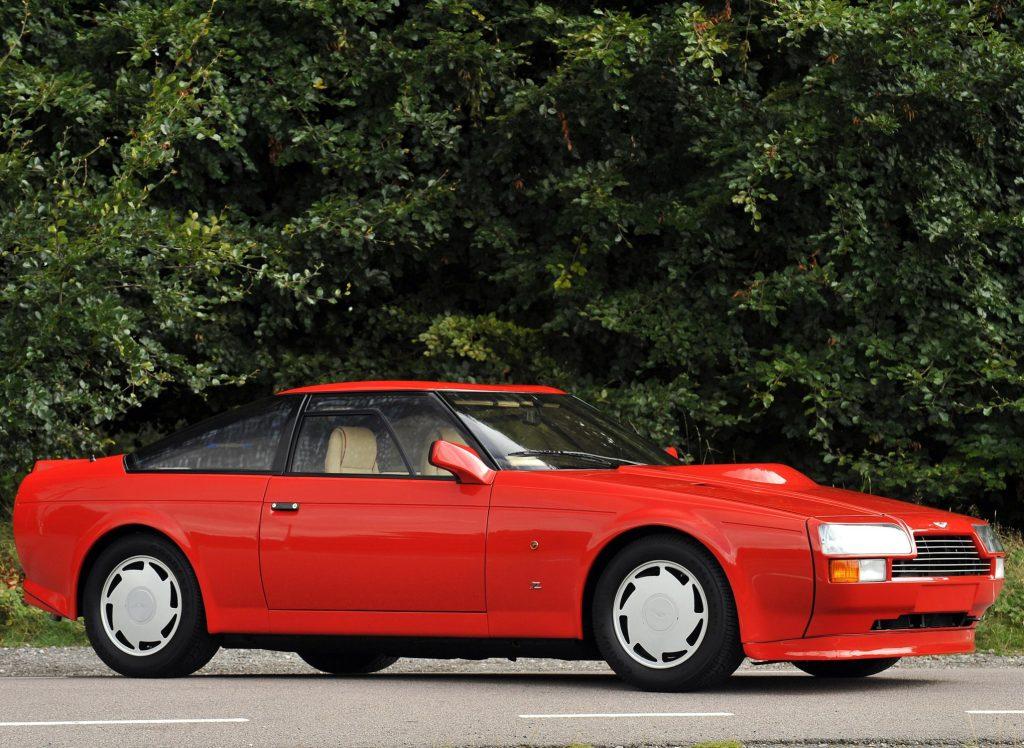 Aston Martin V8 Vantage Zagato 1985 года