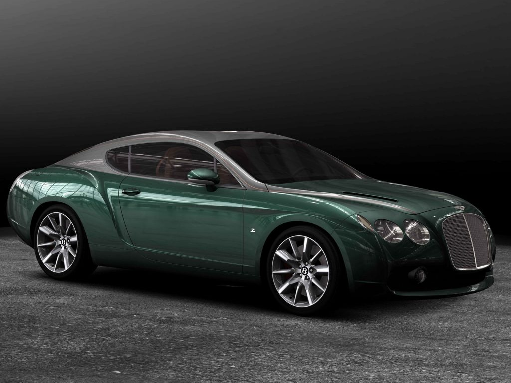 Bentley GTZ 2008 года
