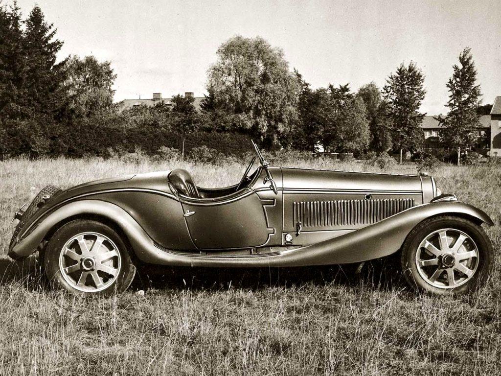Bugatti Type 43 Zagato, 1927 год