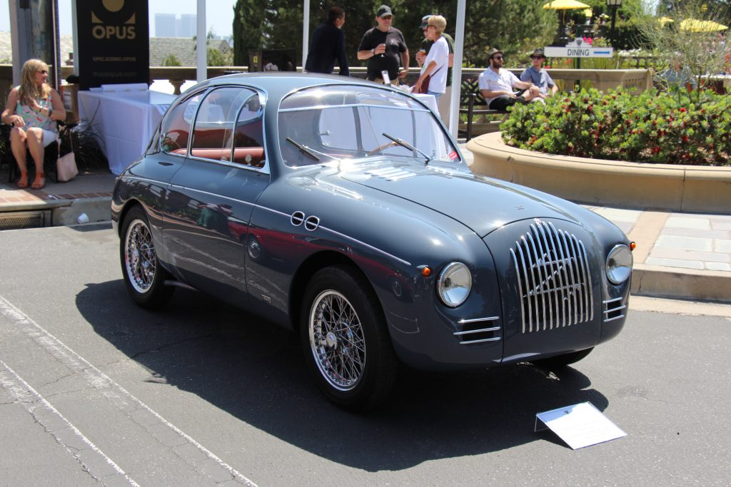 Fiat 500 Zagato Panoramica 1949 года