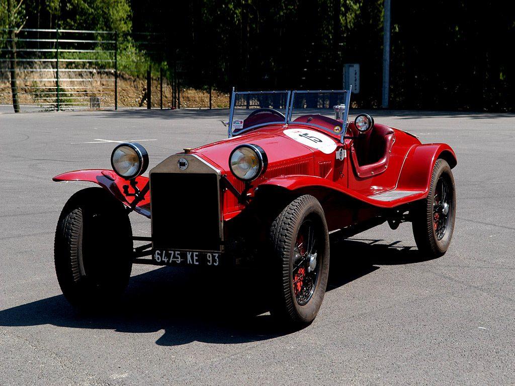 Lancia Lambda Zagato Spider 1927 года