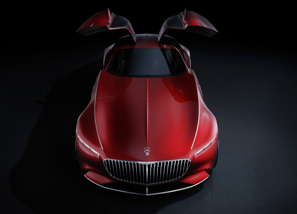 Mercedes-Benz Vision Maybach 6, вид спереди