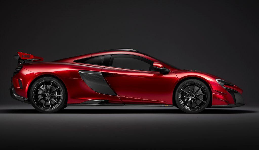 McLaren MSO HS, вид сбоку