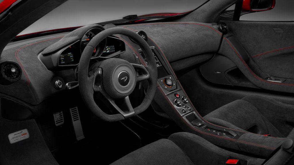 McLaren MSO HS, передняя панель