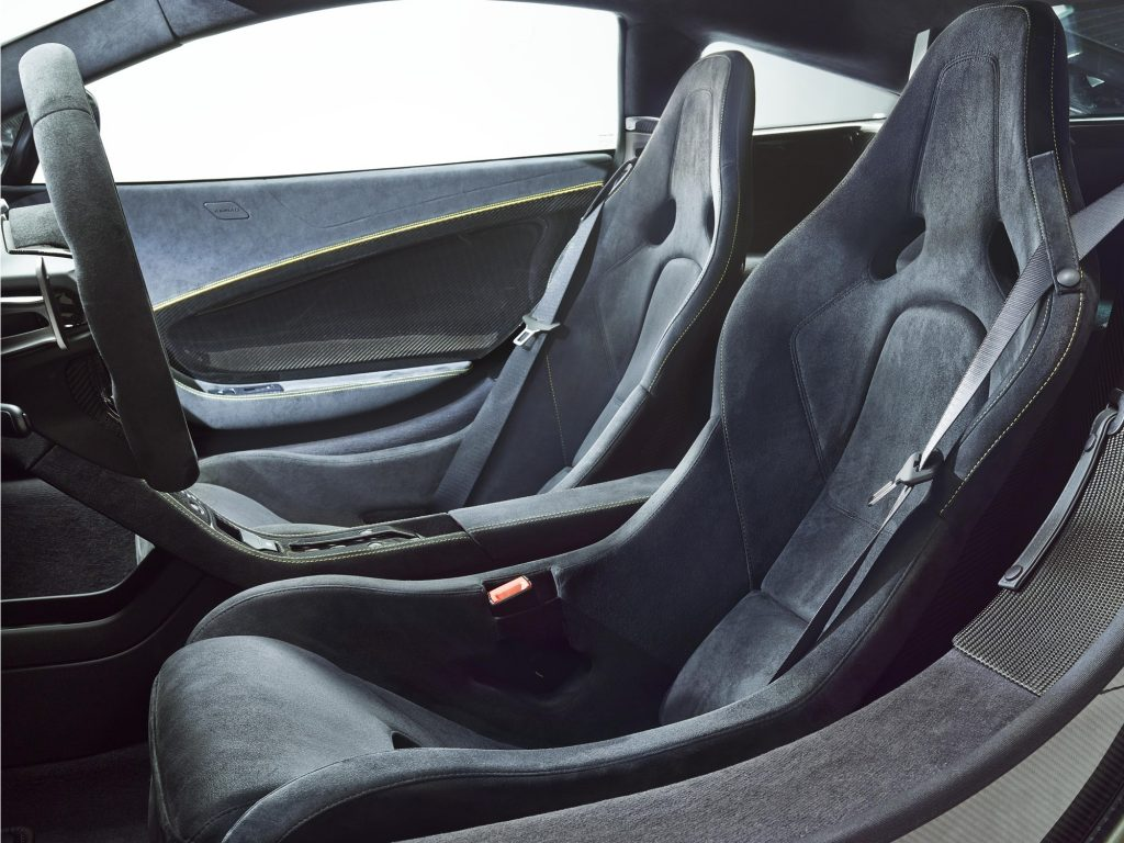 Новый McLaren MSO HS, сиденья