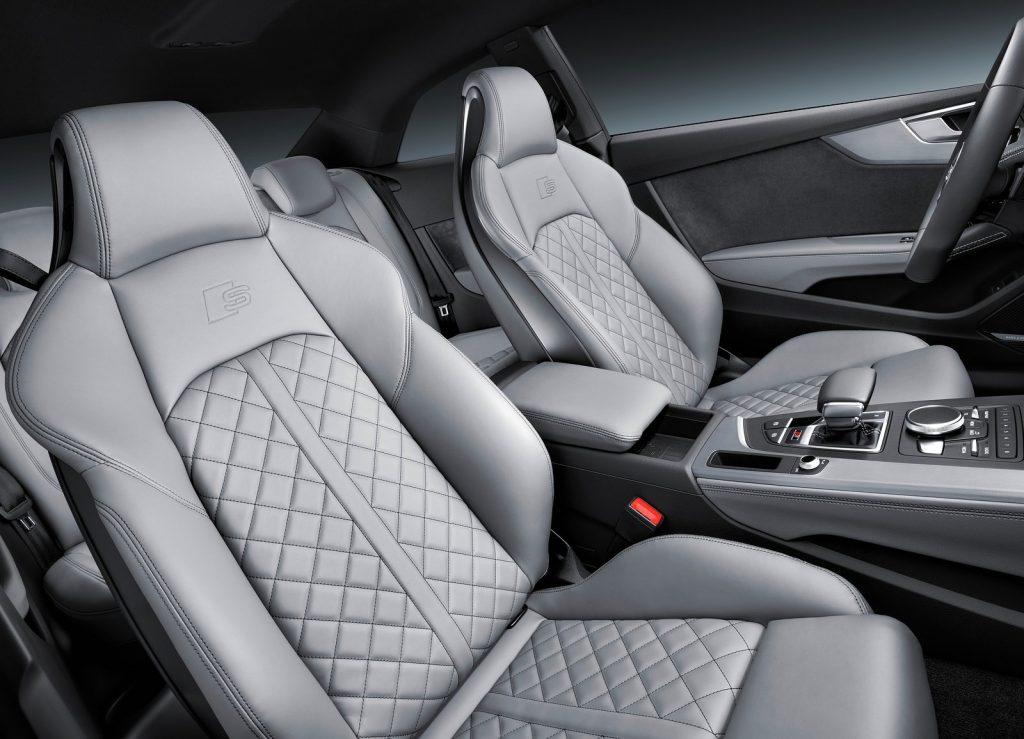 Audi S5 2016, передние сиденья