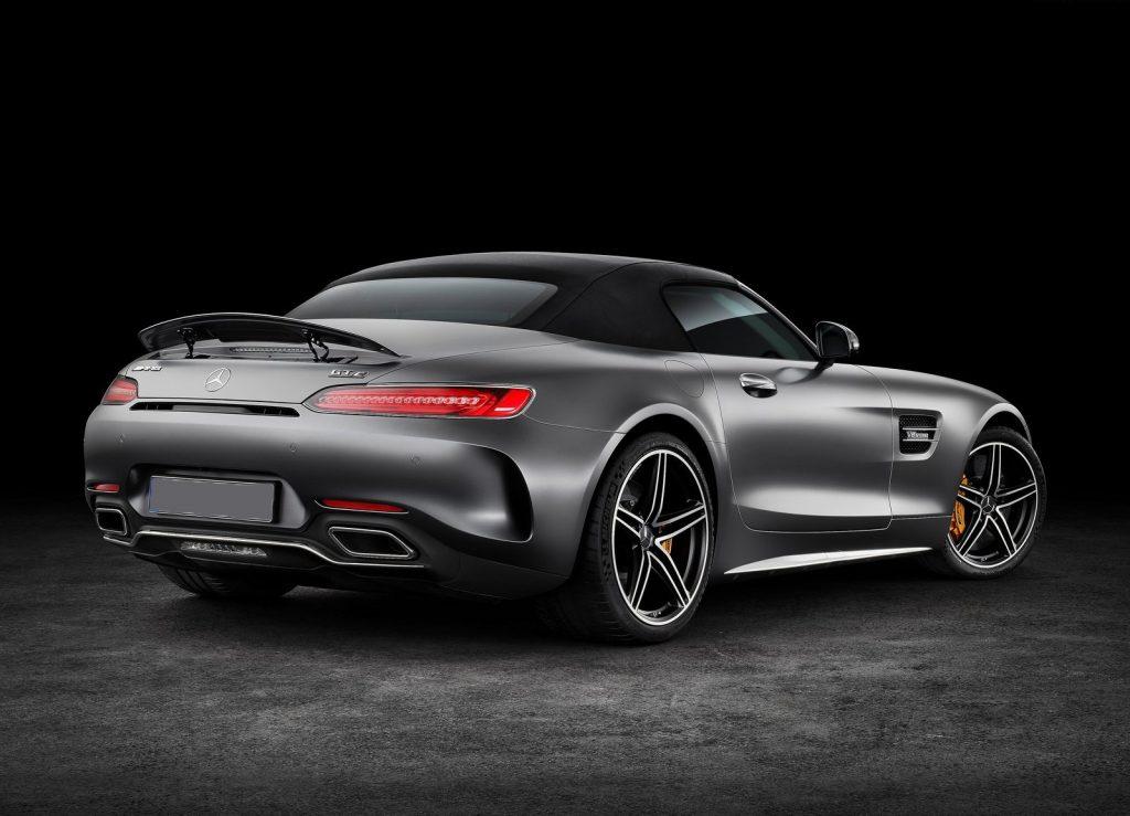Mercedes-AMG GT Roadster, вид сзади