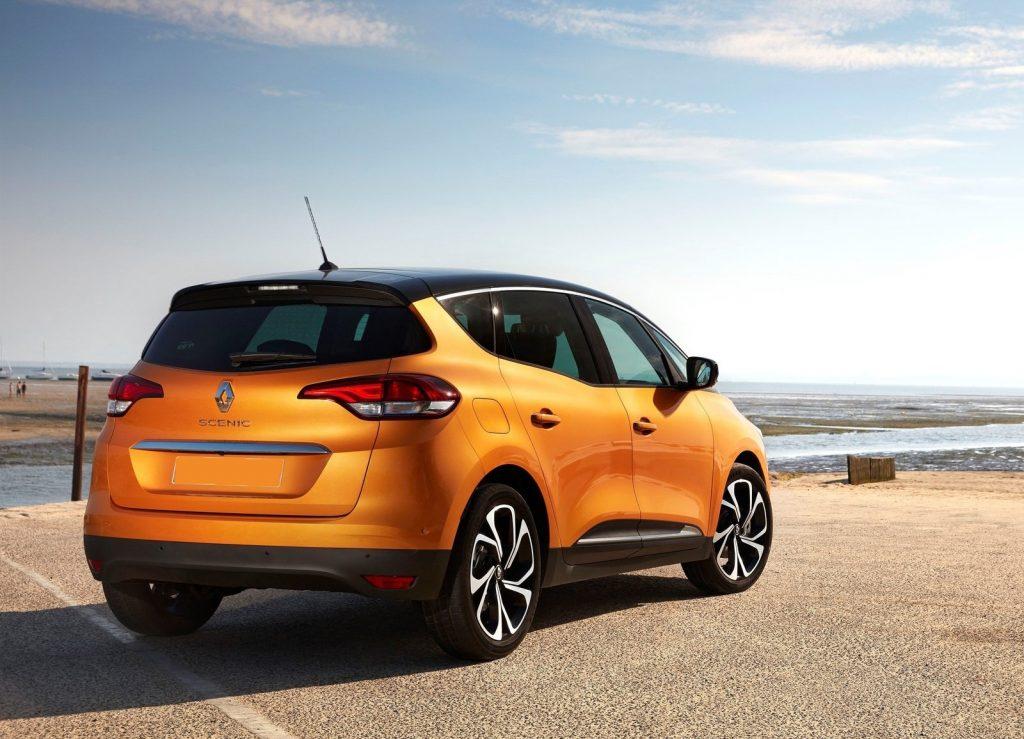 Новый Renault Scenic, вид сзади