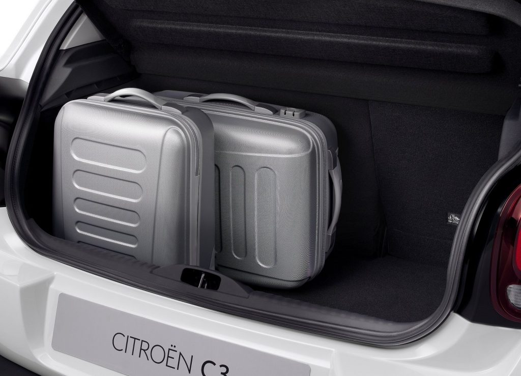 Новый Citroen C3, багажник