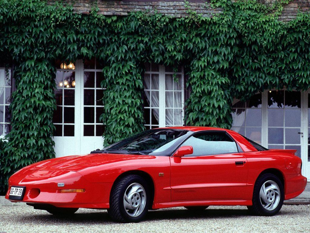 Pontiac Firebird четвертого поколения, 1992 год